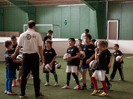 Fussball für Kinder – Einzel und Team Training