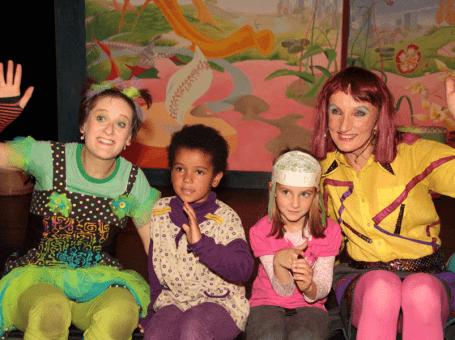 Kindergeburtstag feiern im HEUSCHRECK Theater