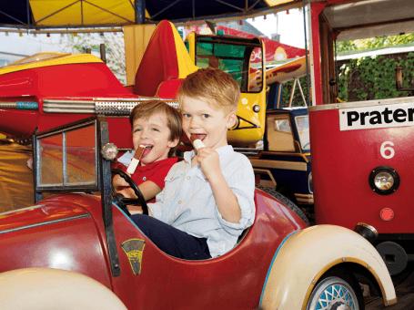 Günstiger Prater-Spaß für Familien mit der neuen Kids Card