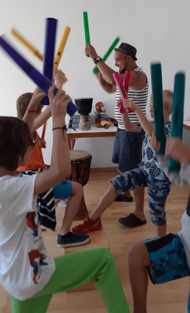 Rhythmus und Trommelworkshops  für Kinder